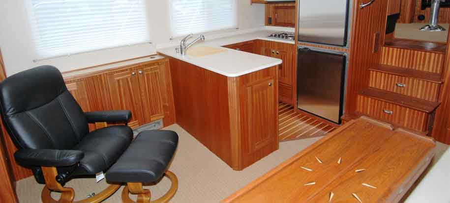 Teak Boat Interiors by Cruising Concepts